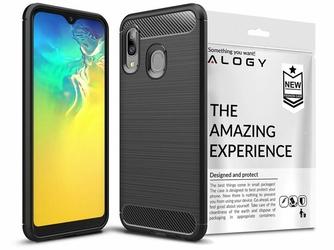 Etui Alogy Rugged Armor do Samsung Galaxy A20e czarne