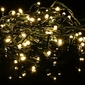 Lampki świąteczne - lampki 400 led - ciepła biel