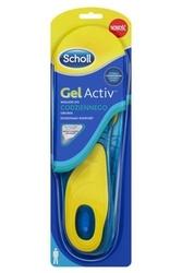 Scholl gelactiv men wkładki do codziennego obuwia rozmiar 8-13 x 2 sztuki