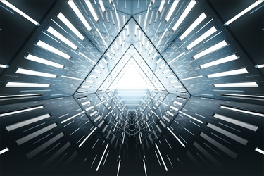 Fototapeta tunel abstrakcja 2928