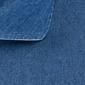 Koszula jeansowa slim fit ciemnoniebieska 40