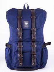 Wodoodporny plecak męski solier sv01 granatowy - granatowy