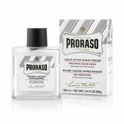 Proraso męski kremowy balsam po goleniu linia biała bez alkoholu 100 ml