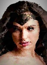 Polyamory - wonder woman, dc comics - plakat wymiar do wyboru: 29,7x42 cm