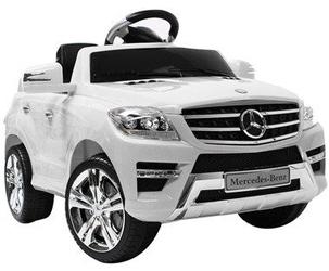 Mercedes ml350 biały samochód dla dziecka na roczek  + pilot