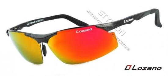 Męskie okulary lozano lz-305a polaryzacyjne lustra
