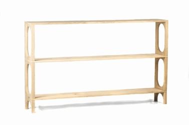 Szyszka design :: regał drewniany flux