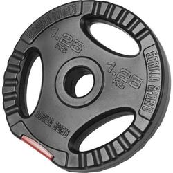 1,25 kg Obciążenie bitumiczne z uchwytami na sztangę 30 mm