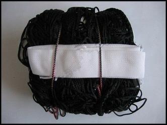 Siatka do siatkówki czarna netex