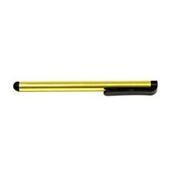 Pióro dotykowe, pojemnościowe, metal, żółte, do iPad i tableta