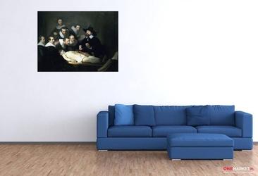 lekcja anatomii doktora tulpa rembrandt van rijn ; obraz - reprodukcja