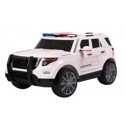 Mega policja z megafonem i radiem, miękkie koła9935