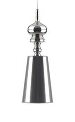 Lampa wisząca z kloszem z tworzywa sztucznego queen 25