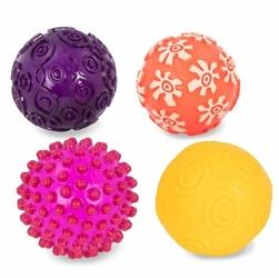 Zestaw czterech piłek sensorycznych, B.toys