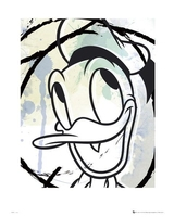 Donald duck drawing - reprodukcja
