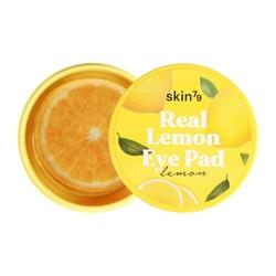 Skin79 cytrynowe płatki rozświetlające na oczy real lemon eye pad 35g