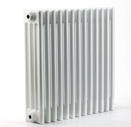 Grzejnik pokojowy retro - 4 kolumnowy, 600x600, białyral - biały