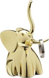 Stojak na pierścionki Zoola mosiądz słoń