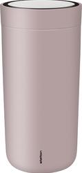Kubek termiczny stalowy To Go Click 0,4 l lawendowy