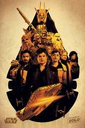 Solo: a star wars story millennium falcon - plakat