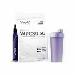 OSTROVIT WPC 80.eu Standard 2270 g + Shaker - Peanut Butter