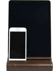 Podstawka na tablet i telefon stackers brązowa