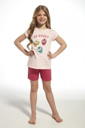 Piżama dziewczęca cornette 25363 kids sweet różowy