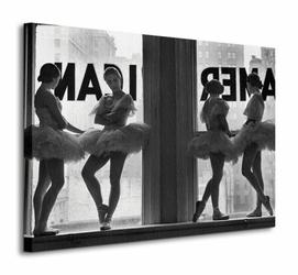 Time Life Ballet Dancers In Window - Obraz na płótnie