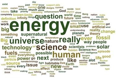 Energy - plakat