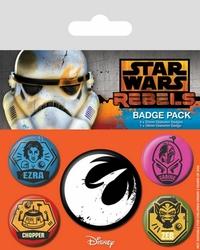 Star Wars Rebels Rebels - przypinki