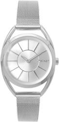 Srebrny damski zegarek minet icon pure silver mesh