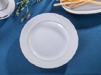 Półmisek okrągły porcelana ćmielów rococo 3604 29 cm