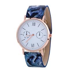 Zegarek żmijka niebieski I - niebieski I