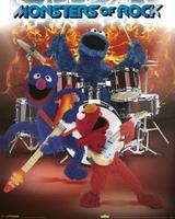 Ulica Sezamkowa - Monsters Of Rock - plakat