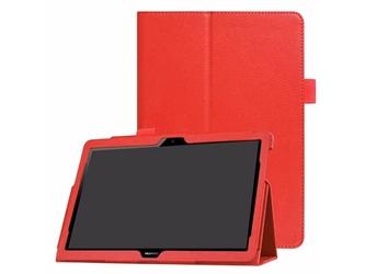 Etui stojak huawei mediapad t3 10 9.6 czerwone +klawiatura - czerwony