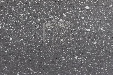 Berlinger haus garnek stone touch 2.3 l 24 cm szary indukcja