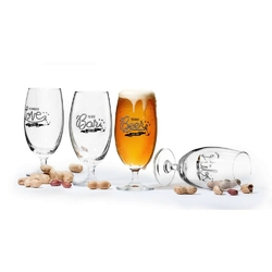 Sagaform - club - 4 kieliszki do piwa