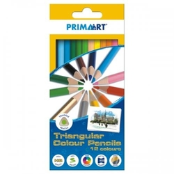 Kredki ołówkowe trójkątne 12 sztuk