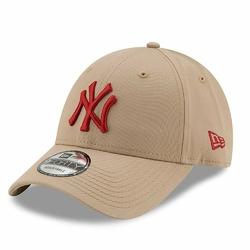 Czapka New Era New York Yankees Essential 9FORTY Camel - 11871475