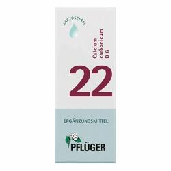 Biochemie Pflueger 22 Calcium carbon.D 6 Tropfen