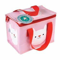 Kolorowa torba termiczna na lunch kotek cookie Rex London