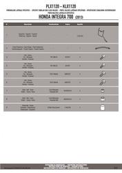 Givi plx1120 mocowanie boczne v35 integra 700 12-13