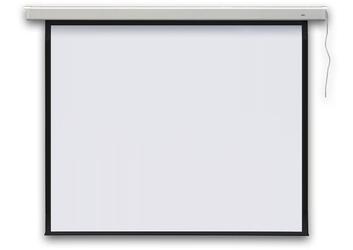 Ekran projekcyjny profi elektryczny 279 cm 110 1:1 - szybka dostawa lub możliwość odbioru w 39 miastach