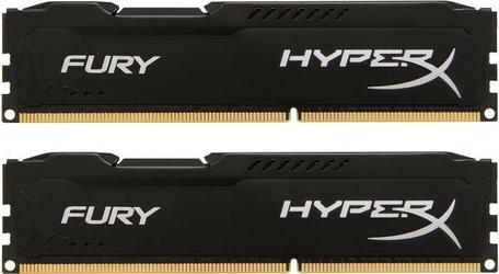 HyperX DDR3 Fury  8GB 1600 24GB CL10 BLACK