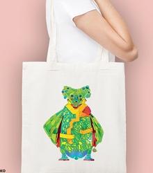 Koala + pingwin. kosmos torba na zakupy naturalna universal