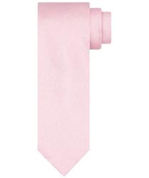Różowy jedwabny krawat profuomo