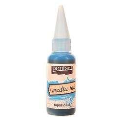 Tusz MediaInk 20 ml Pentart - topaz-blue - TPZB