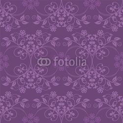Plakat na papierze fotorealistycznym piękna bezszwowa purpurowa tapeta