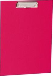 Podkładka z klipsem uni różowa