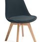 Krzesło fagio grafitowe